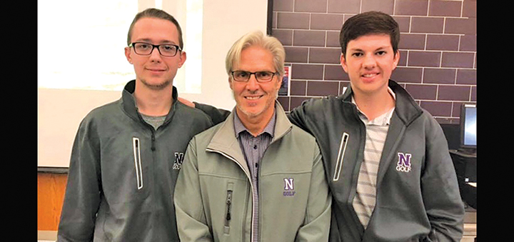 NHS Golf celebrates end of season